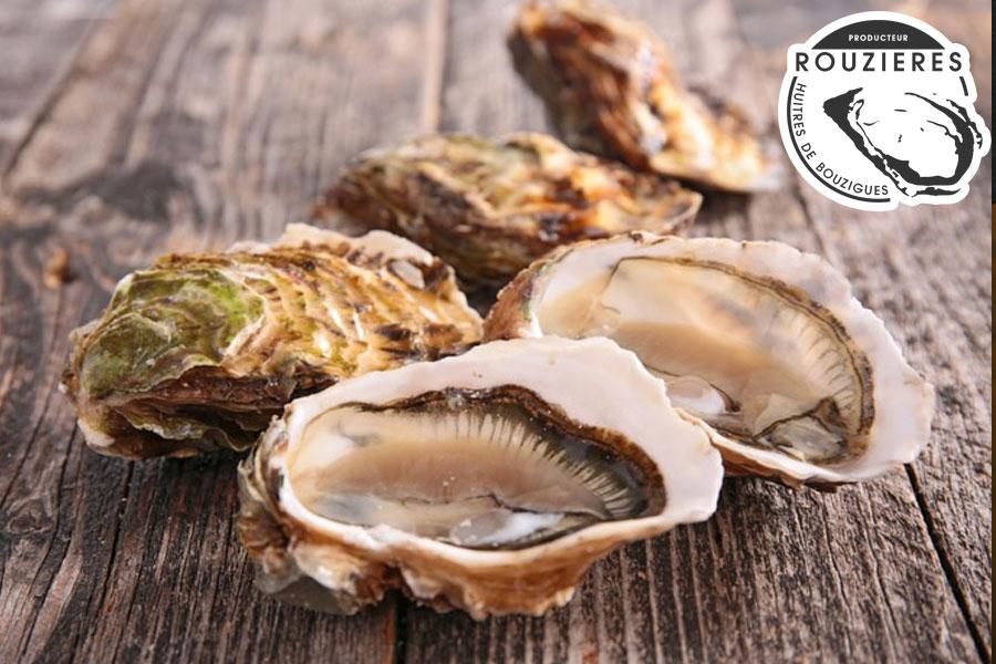 Les huîtres de Bouzigues dans l'Hérault