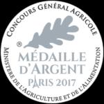 Médaille argent concours agricole de paris
